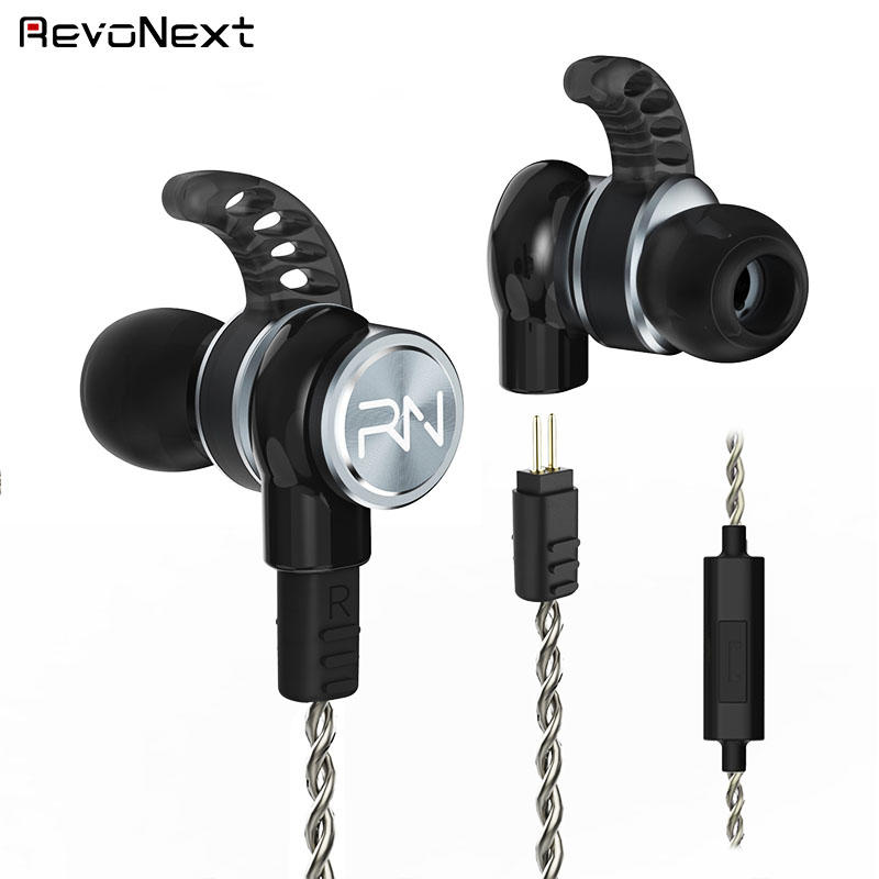 comfortable wear quad driver earphones qt3s earbuds for music-3