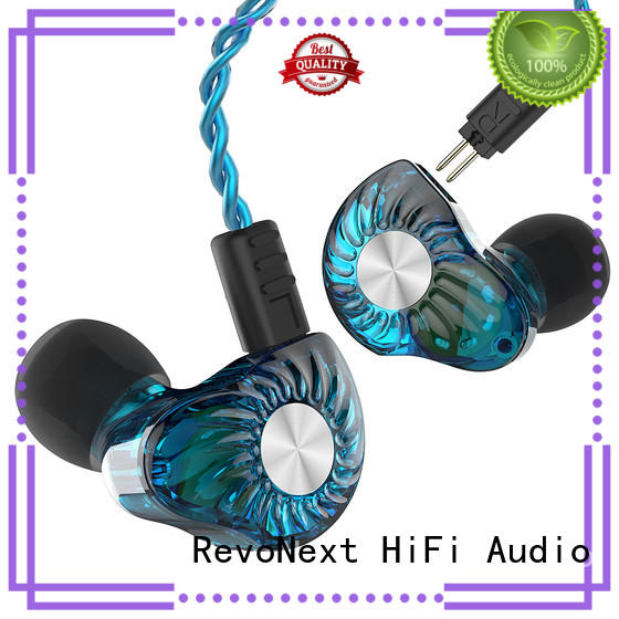 comfortable wear high end in ear headphones noise cancelling for gym centre RevoNext