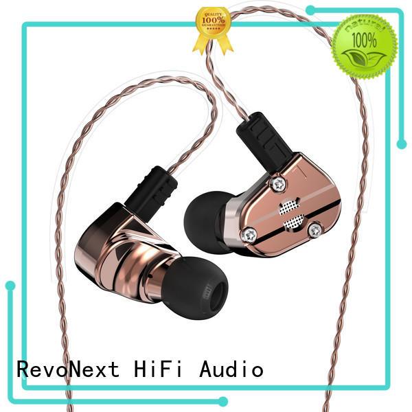 RevoNext qt5 quad driver earphones earbuds for school