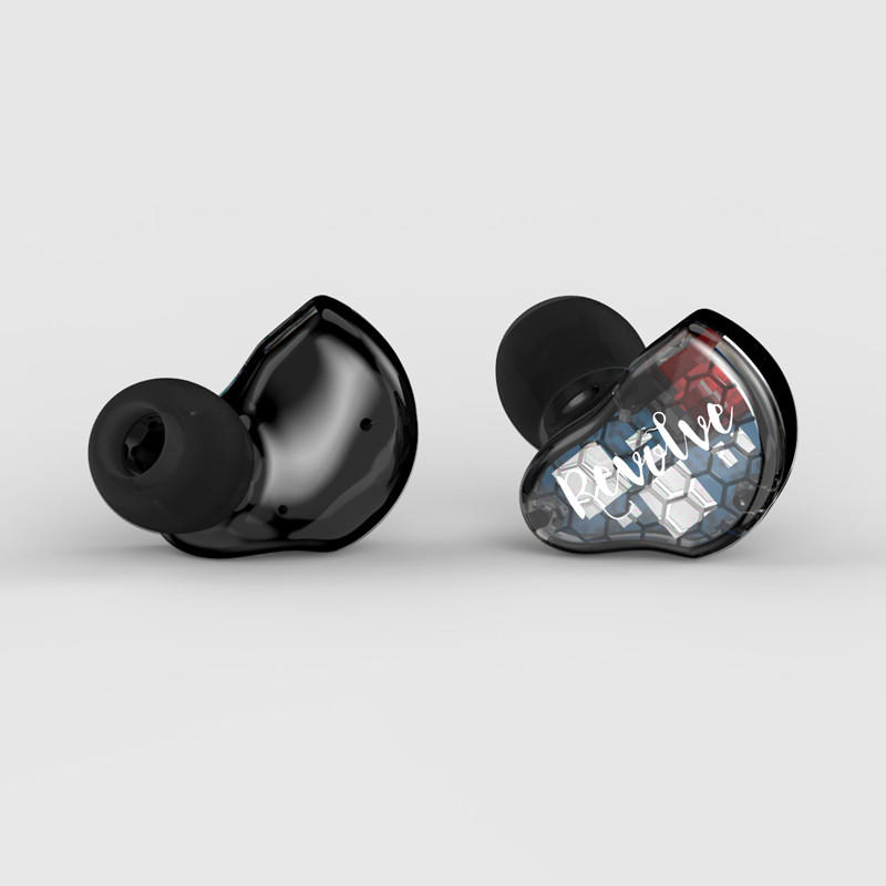 RevoNext dual high quality earphones earbuds for home