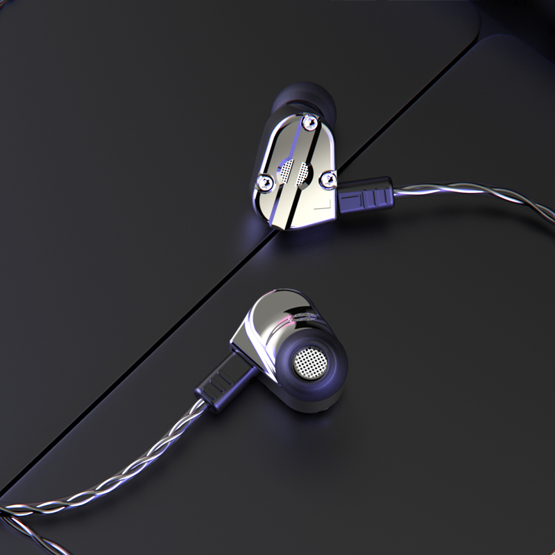 RevoNext triple best quad driver earphones best manufacturer for sale-16