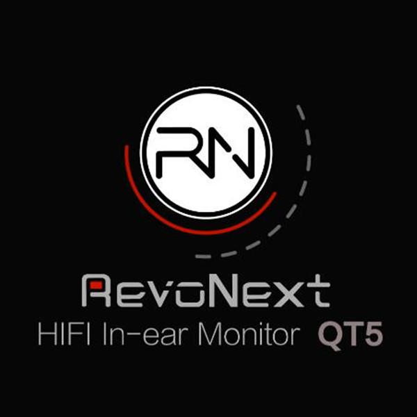 RevoNext QT5 Dual Driver In-Ear Headphones,  Banlanced Armature with Dynamic in Ear Earbuds with 2 Pins Detachable HiFi Audio Cable