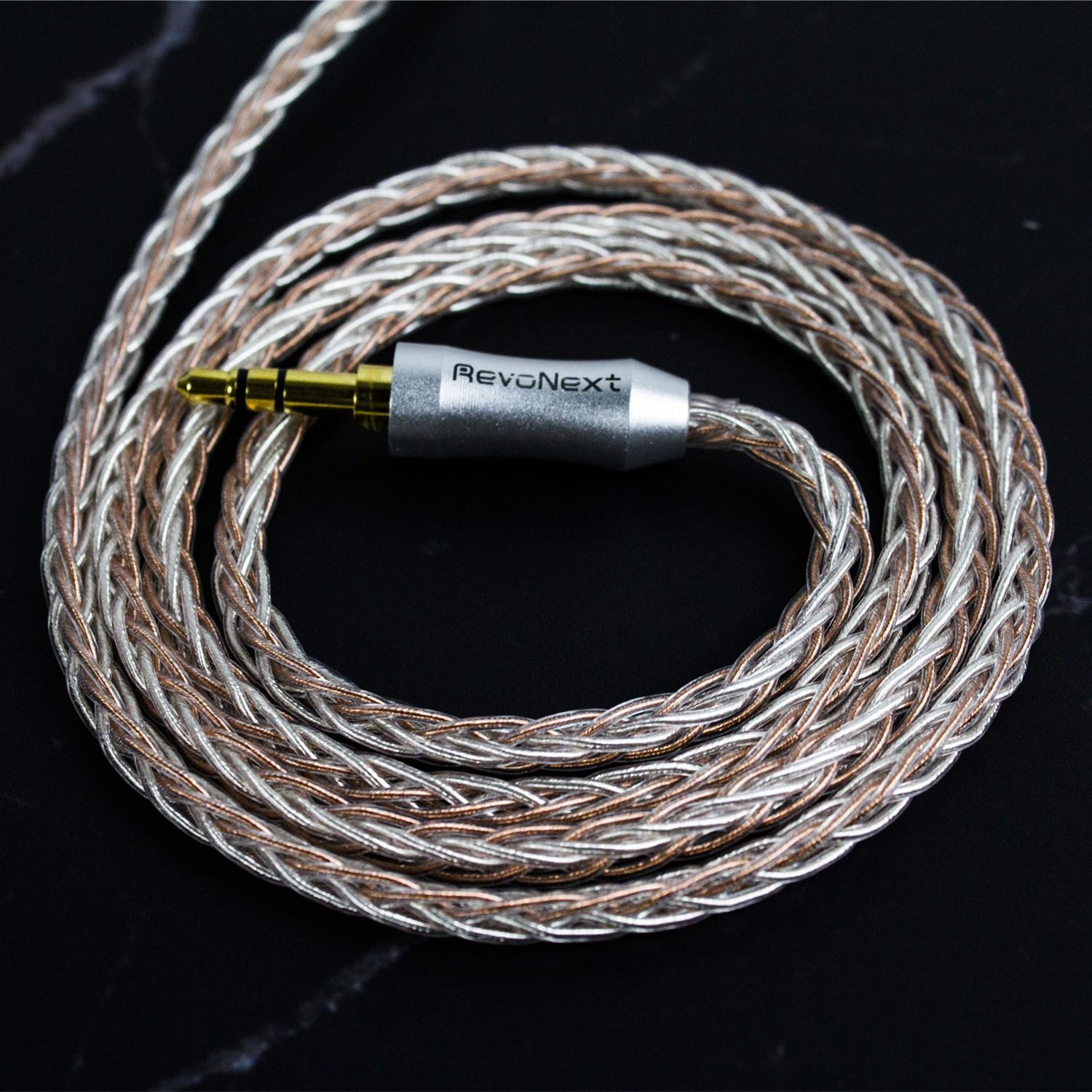 RevoNext durable in ear headphones strong cable wholesale bulk production