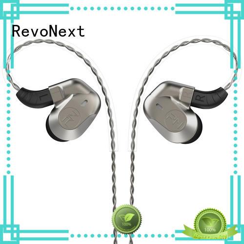 RevoNext comfortable wear best sounding earbuds in ear monitor for sport