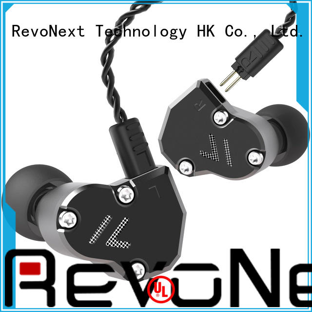 RevoNext hifi sound effect top headphone brands in ear monitor for firness room