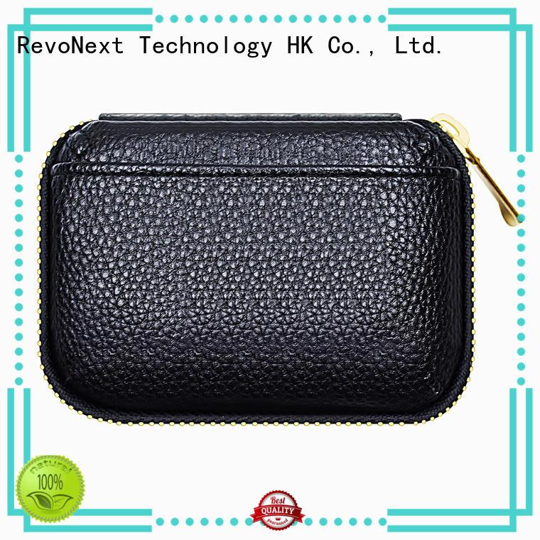 silver earphone case online headphones for home RevoNext