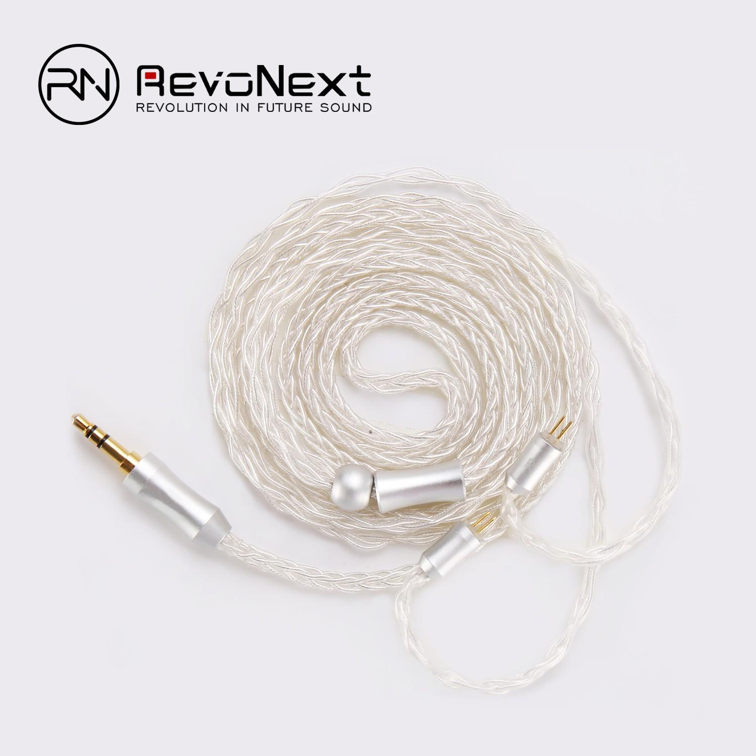 RevoNext detachable 2 pin bluetooth cable supply for earphone-1