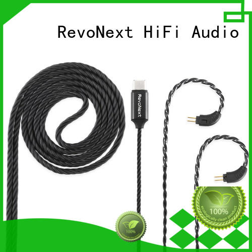 RevoNext popular 2 pin bluetooth cable from China for headphone