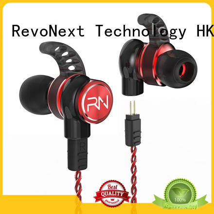RevoNext worldwide best quad driver earphones with good price for promotion