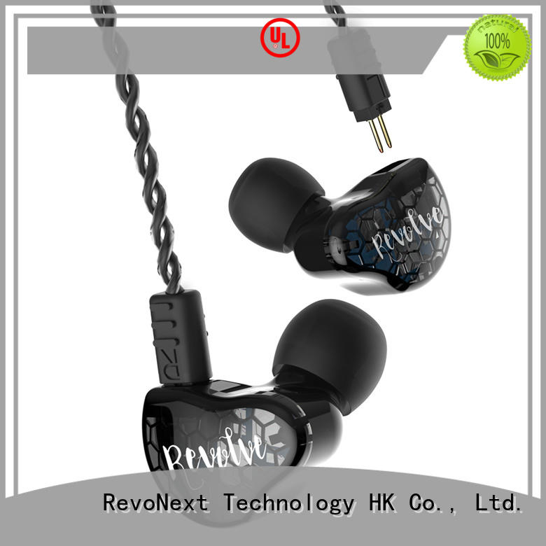 durable in ear dual driver rx6 series for firness room