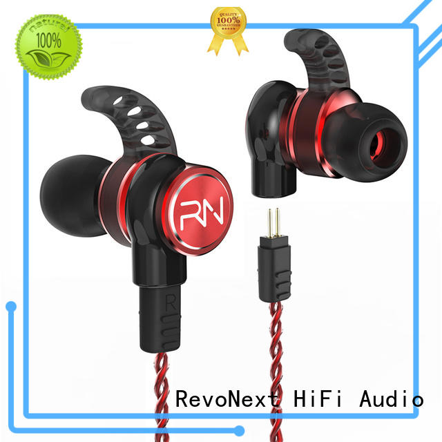 RevoNext best valued quad driver earphones directly sale for sale