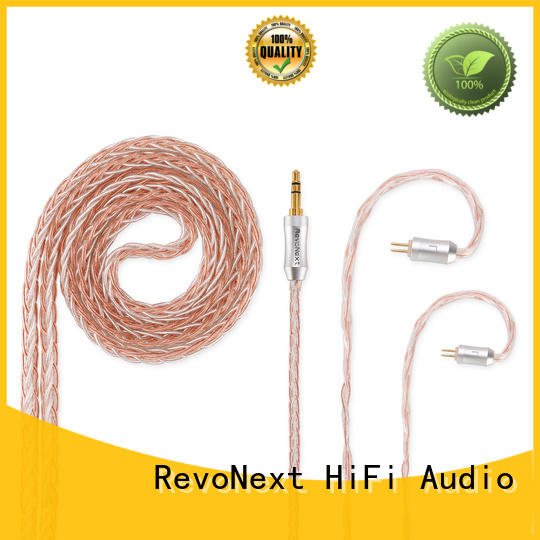 RevoNext headphone cable with microphone directly sale for earbuds