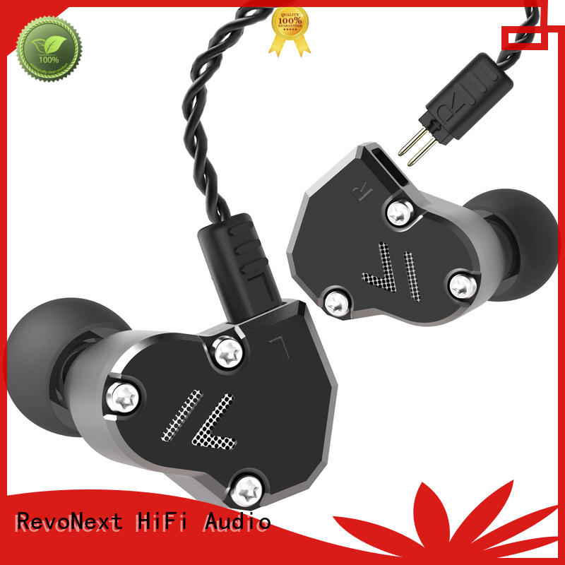 RevoNext bluetooth cable top in ear headphones in ear monitor for home