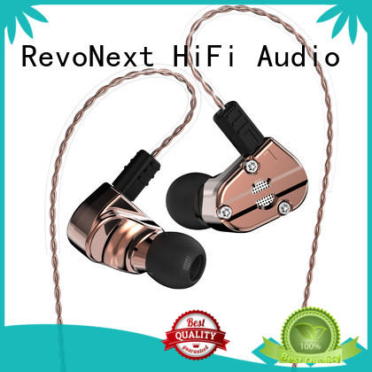 RevoNext inear quad driver in ear headphones series for firness room