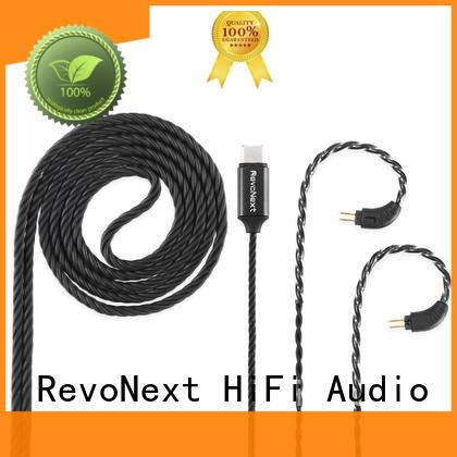 RevoNext earbud earphone cable wholesale for headphone