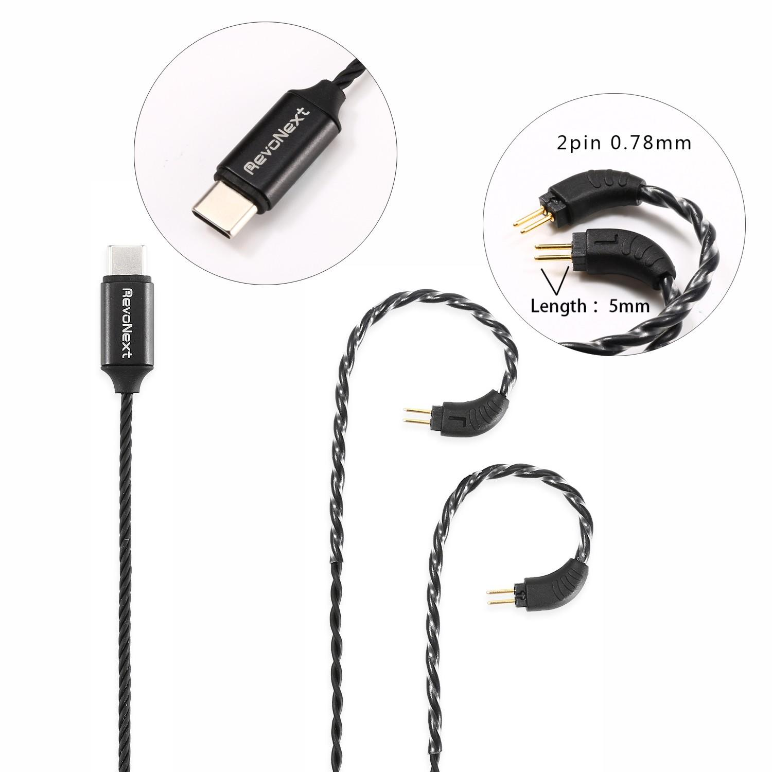 RevoNext reliable headphone cable with microphone company for hifi-2
