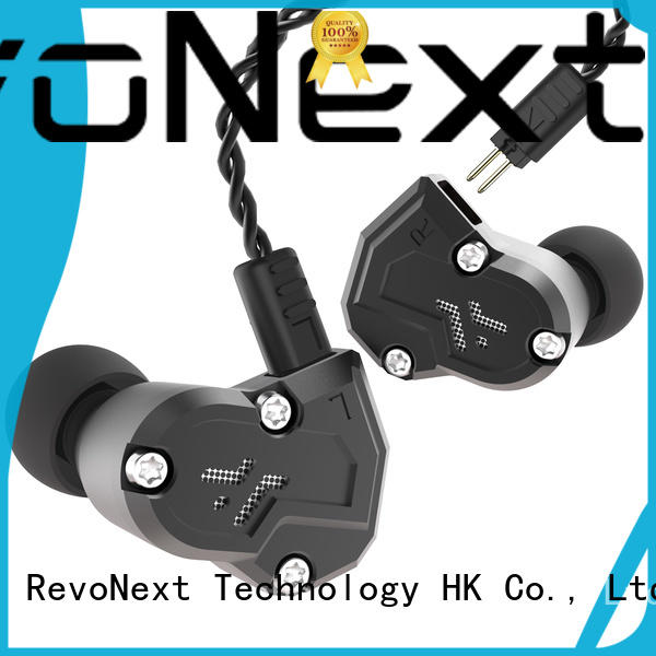 RevoNext triple quad driver in ear headphones series for jogging