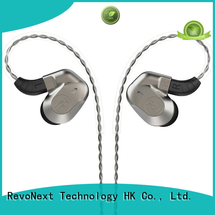 stable best in ear headphones with mic in ear monitor for sport