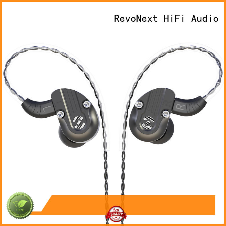 drivers best quality in ear headphones qt2s for firness room RevoNext