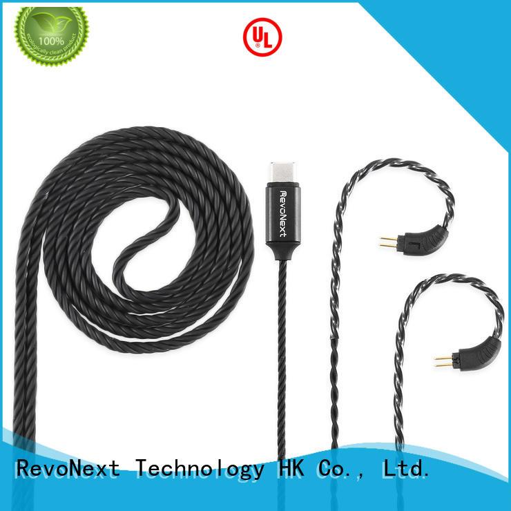 RevoNext headphones earphone cable factory price