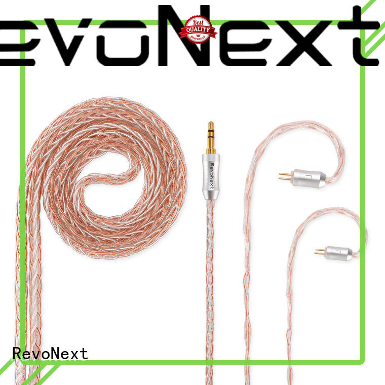 RevoNext top quality lightning cable earphones suppliers for headphone
