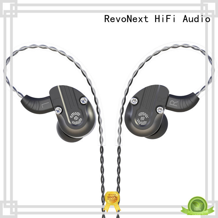 spots best in ear headphones for music in ear monitor for sport RevoNext