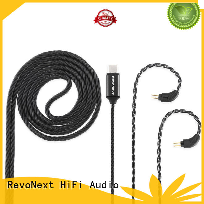 RevoNext b02 best headphone cable suppliers for hifi