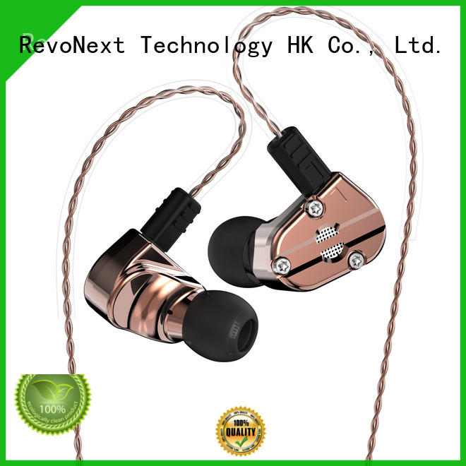 RevoNext triple high quality in ear headphones best manufacturer for jogging