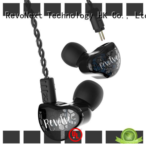 RevoNext earphones good in ear headphones noise cancelling for gym centre