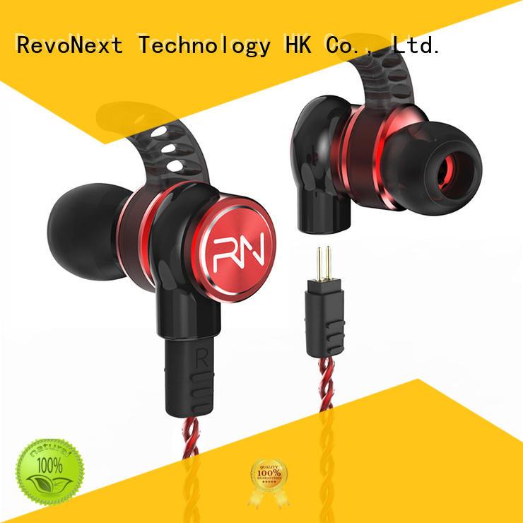 RevoNext rx8 best noise isolating in ear headphones supply for sport