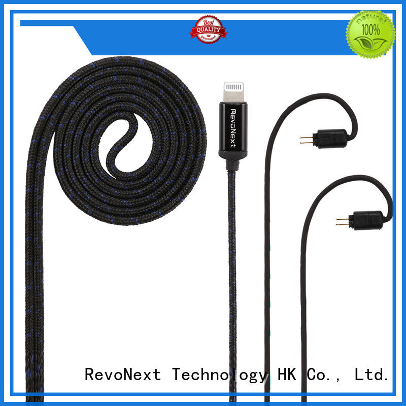 RevoNext factory price headphone cable with microphone directly sale for audio