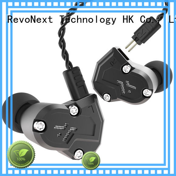 RevoNext dual cheap in ear headphones earbuds for firness room