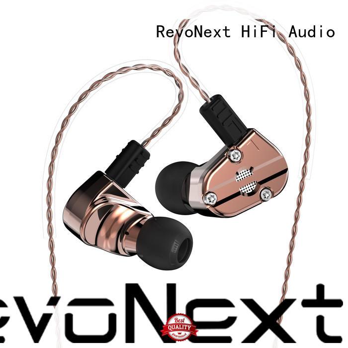 RevoNext Brand inear earphones custom top ten in ear headphones