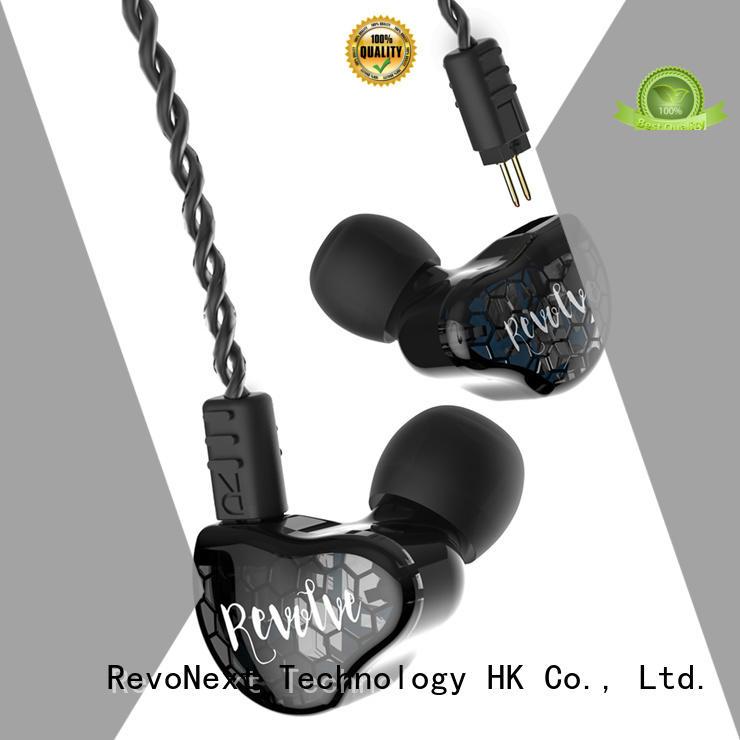 RevoNext bluetooth cable best sounding in ear headphones bulk buy for office
