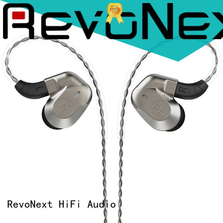 RevoNext hifi sound effect detachable cable headphones bulk buy for relaxing