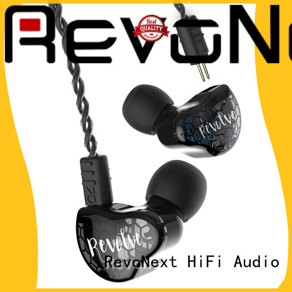 RevoNext comfortable wear best in ear headphones with mic earbuds for firness room