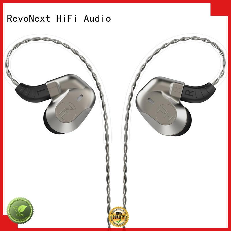 RevoNext hifi headphones good in ear earphones earbuds for gym centre