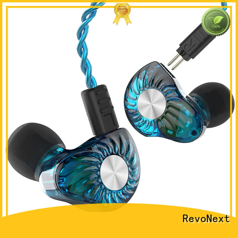 RevoNext quad in ear headset series for promotion