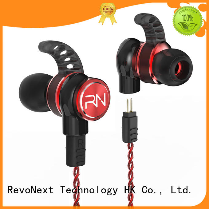 RevoNext rx6 dual driver headphones in ear suppliers for office