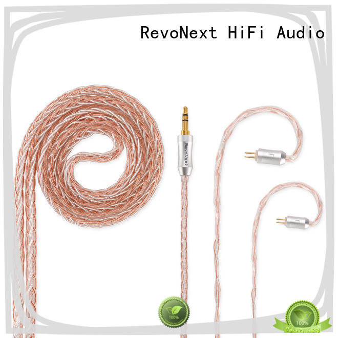 RevoNext factory price 2 pin bluetooth cable factory price for earbuds