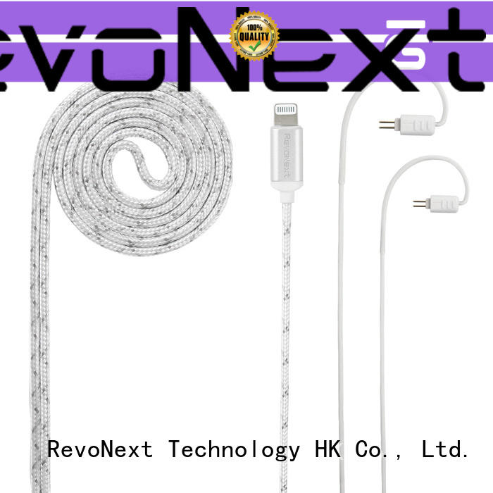 RevoNext earphone cable best supplier for earphone