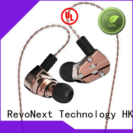 RevoNext Bluetooth cable inner ear headphones for sale for office