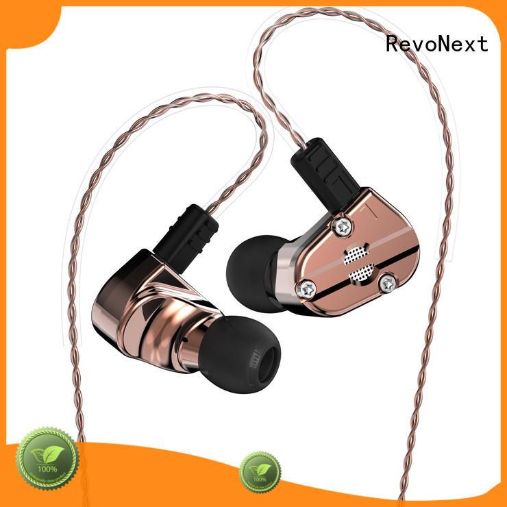 RevoNext durable inner ear headphones supply for music