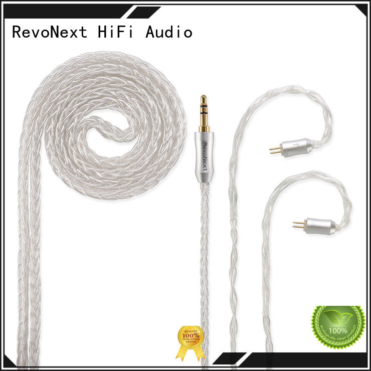 RevoNext professional bulk headphone cable from China for headphone