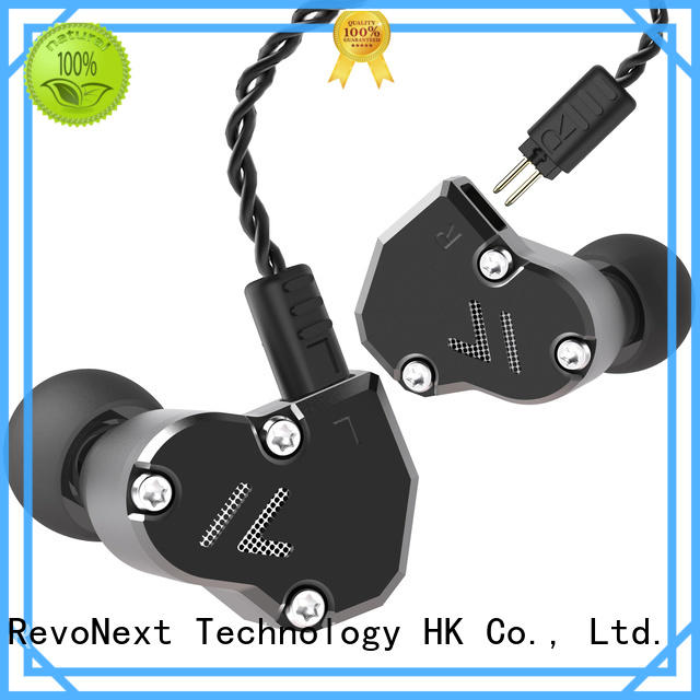 triple best noise isolating in ear headphones drivers for firness room RevoNext