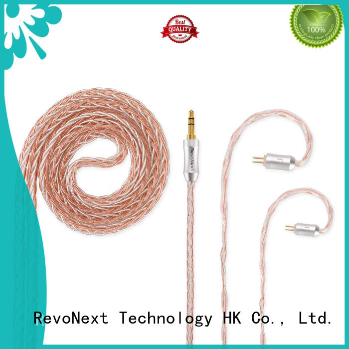 RevoNext stable high end headphone cables factory bulk buy