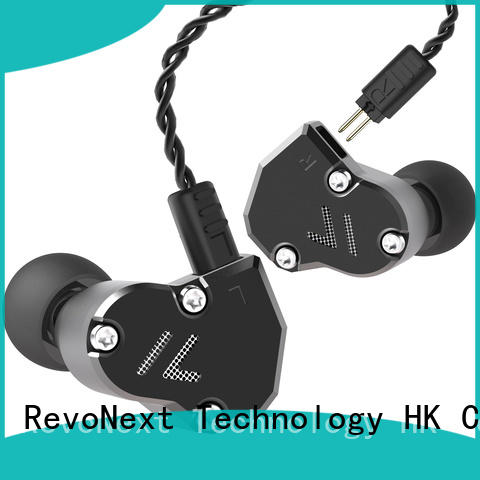 RevoNext customized in ear headphones with mic from China for firness room