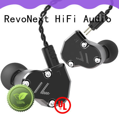 RevoNext triple good in-ear headphones series for promotion