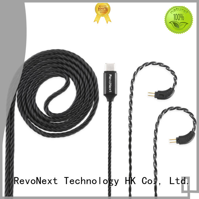 RevoNext earphone best 2 pin bluetooth cable bulk buy for promotion
