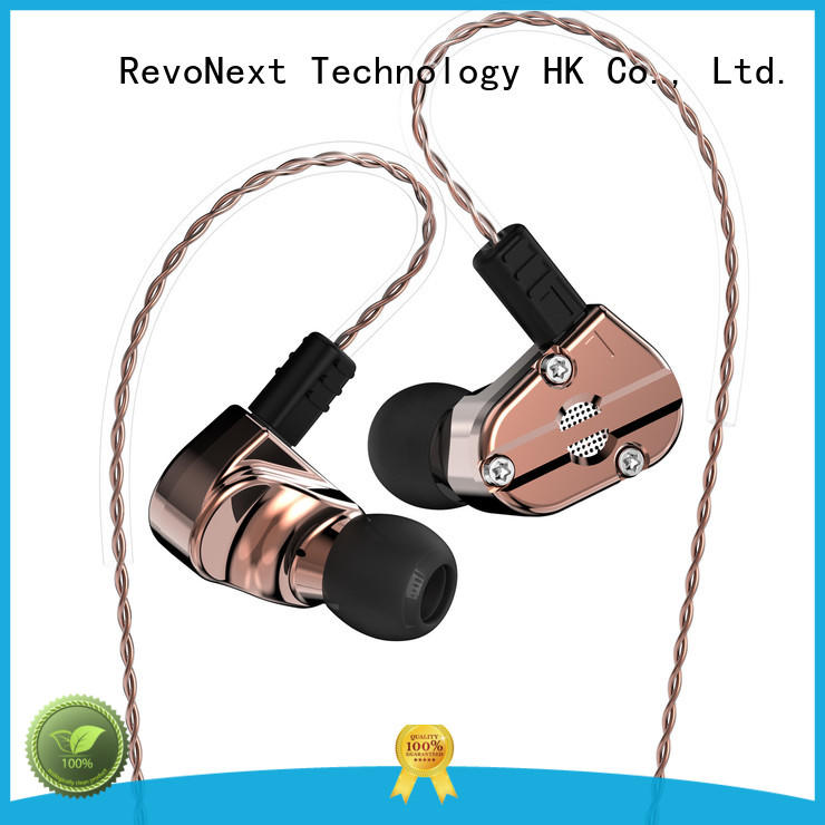 RevoNext dual dual drivers earphones inquire now for office